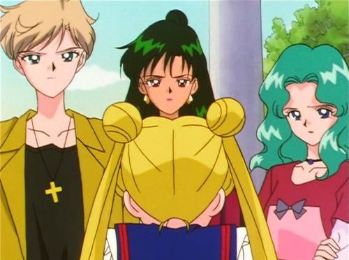 Do Haruka, Michiru, and Setsuna's Names Refer Back to Usagi?